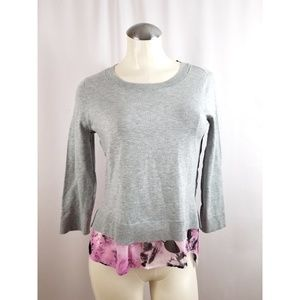INC International Concepts Size S Gray Top
